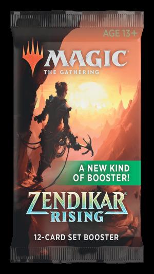 MTG : Zendikar Rising Set (Ang) – Booster