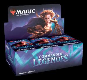 MTG – Display – Commander Légendes