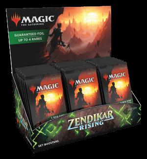 MTG : Zendikar Rising Set (Ang) – Display