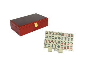 Petit Mahjong – Coffret Bois