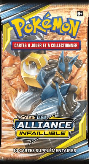 Pokémon – SL10 Alliance Infaillible – Booster