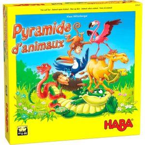 Pyramide d'animaux – Jeu d'Empilement et Équilibre