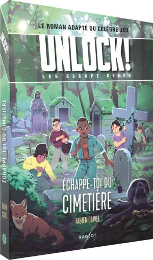 Unlock! Escape Geeks – T2 – Échappe-toi du cimetière