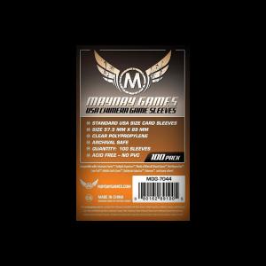 Mayday Games : 100 sleeves Chimera standard (57,5 x 89 mm)