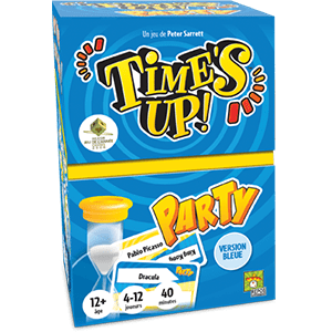 Time's up party version bleue