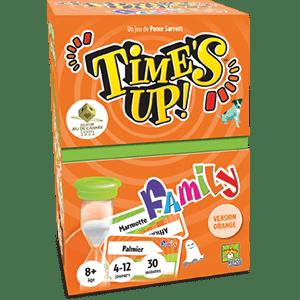 Time's up family version orange