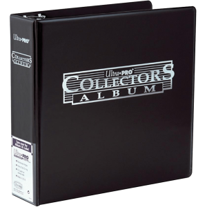 Ultra PRO : Classeur à Anneaux A4 Collector Noir