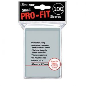 Ultra Pro – Sleeves – Small x100 – Pro-Fit