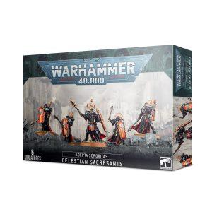 Warhammer 40 000 – Adepta Sororitas – Célestes Sacro-saintes