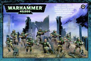 Warhammer 40 000 – Astra militarum Cadian Infantry Squad