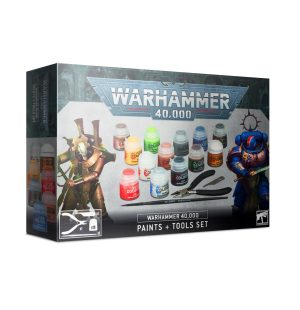 Warhammer 40 000 – Set de Base : Peinture et Outils