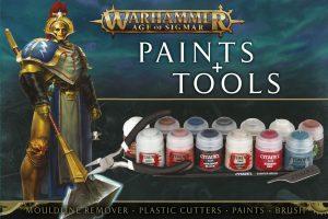 Warhammer Age of Sigmar – Set de Base : Peintures et Outils