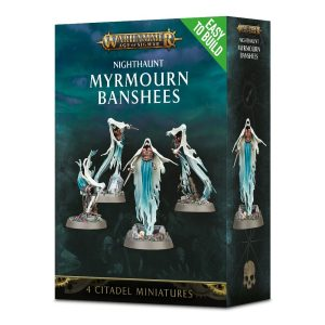 Warhammer Age of Sigmar – Easy To Build – Nighthaunt Myrmourn Banshees
