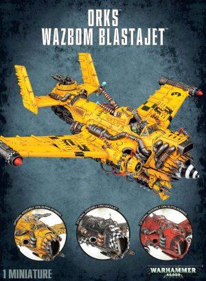 Warhammer 40 000 – Orks – Wazbom Blastajet