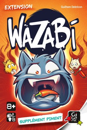 Wazabi – Extension – Supplément Piment