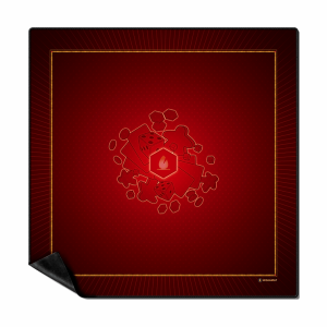 Wogamat – Multijeux – Rouge – Tapis Taille 3