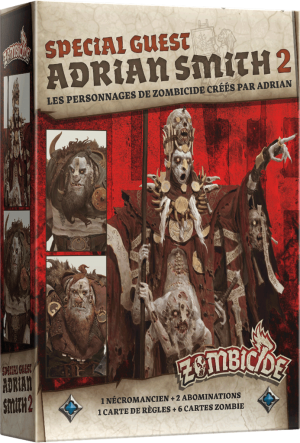 Zombicide Black Plague – Special Guest Adrian Smith 2