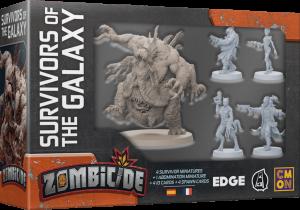 Zombicide Invader – extension – Les Survivants de la galaxie