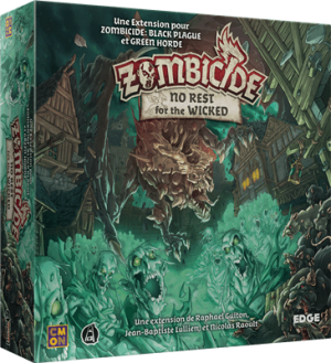 Zombicide Black Plague – Extension – No Rest For The Wicked